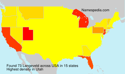 Surname Langeveld in USA