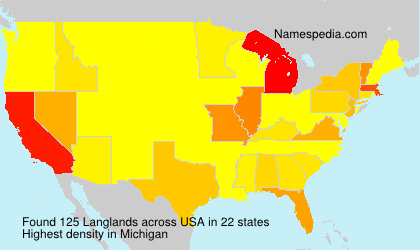 Surname Langlands in USA