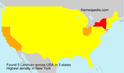 Surname Larchian in USA