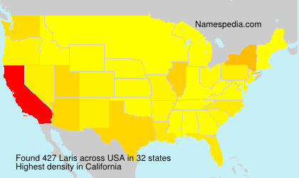 Surname Laris in USA