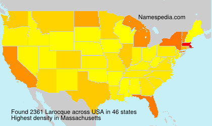 Surname Larocque in USA