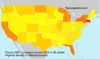 Familiennamen Larocque - USA