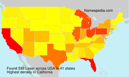 Surname Laser in USA