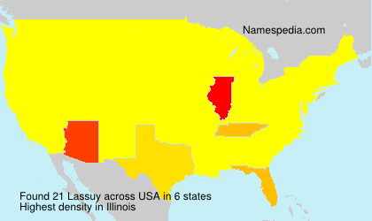 Surname Lassuy in USA