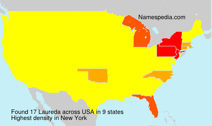 Surname Laureda in USA
