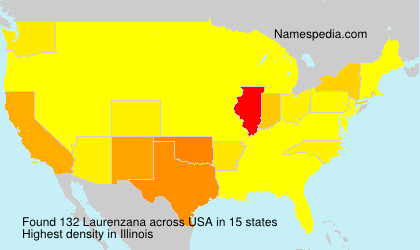 Surname Laurenzana in USA