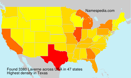 Familiennamen Laverne - USA