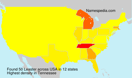 Surname Leaster in USA