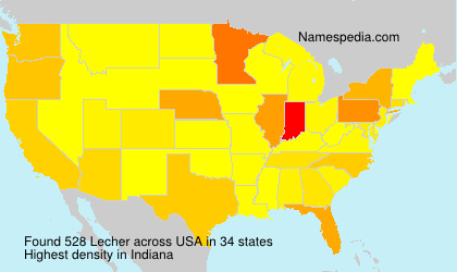 Surname Lecher in USA