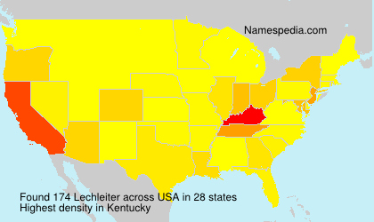 Surname Lechleiter in USA