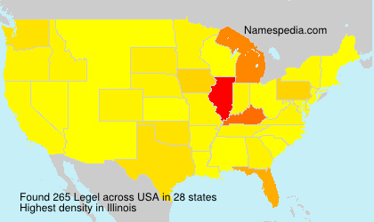 Surname Legel in USA