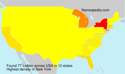 Surname Leibler in USA