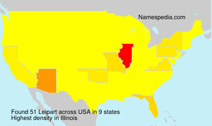 Surname Leipart in USA