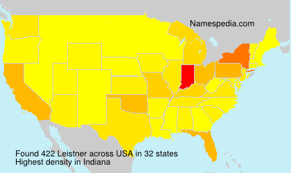Surname Leistner in USA
