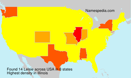 Surname Lelsie in USA