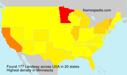 Surname Lendway in USA