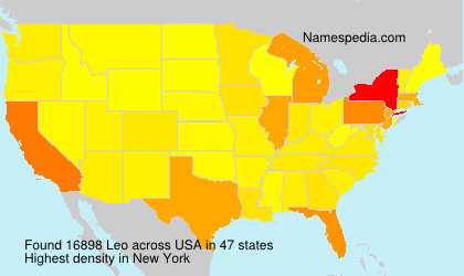 Surname Leo in USA