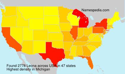 Surname Leona in USA