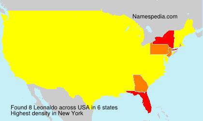 Familiennamen Leonaldo - USA