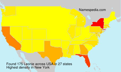 Surname Leonie in USA