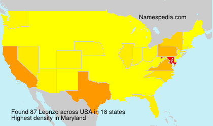 Surname Leonzo in USA