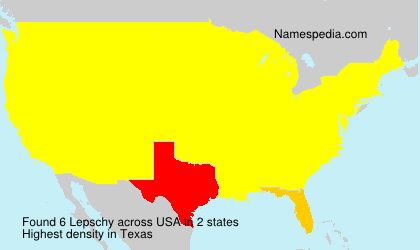 Surname Lepschy in USA