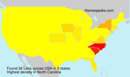 Surname Leris in USA
