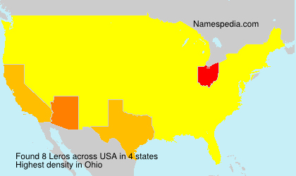 Surname Leros in USA