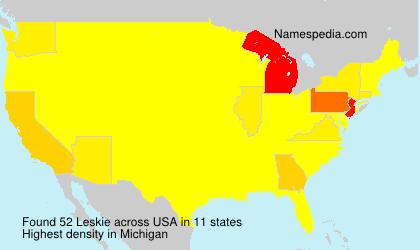 Leskie - USA