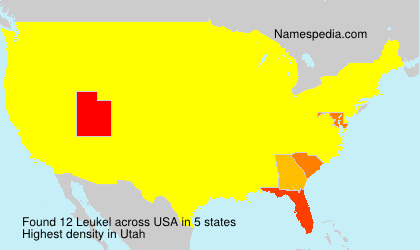 Surname Leukel in USA