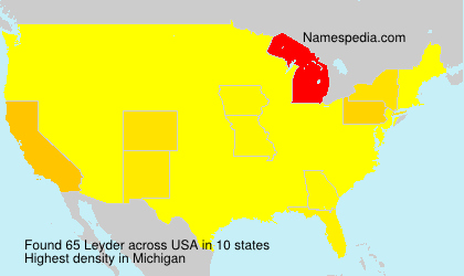 Surname Leyder in USA