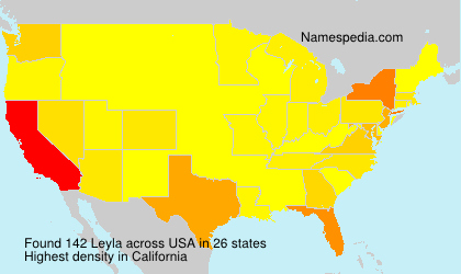 Surname Leyla in USA
