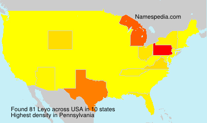 Surname Leyo in USA