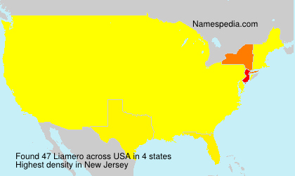 Surname Liamero in USA