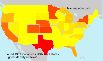 Surname Libal in USA