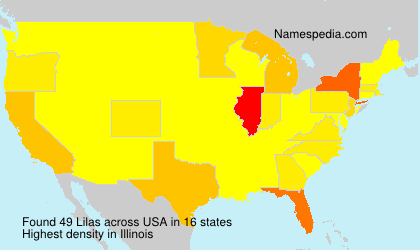 Surname Lilas in USA