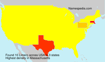 Surname Limero in USA