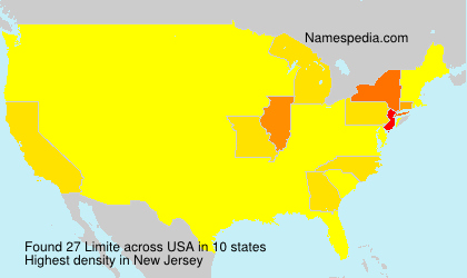 Surname Limite in USA