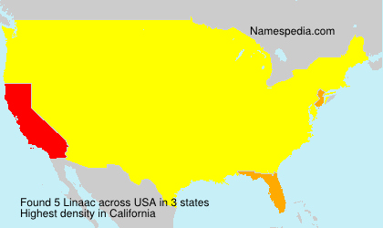 Surname Linaac in USA