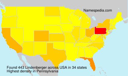 Surname Lindenberger in USA