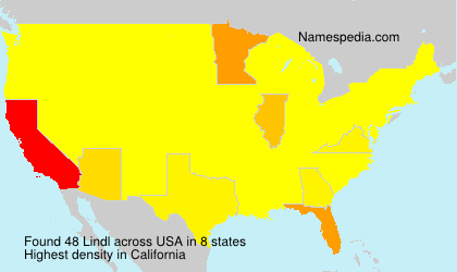 Familiennamen Lindl - USA