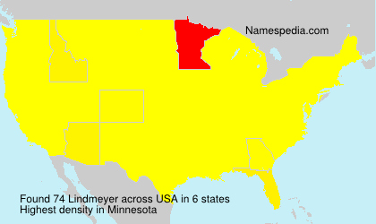 Surname Lindmeyer in USA