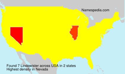 Surname Lindqwister in USA