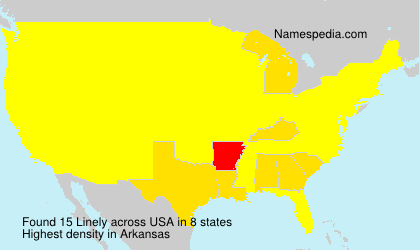 Surname Linely in USA