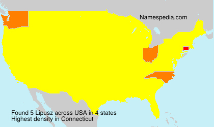 Surname Lipusz in USA