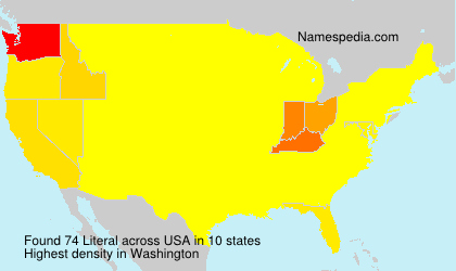 Surname Literal in USA