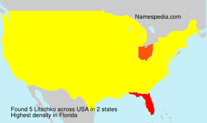 Surname Litschko in USA