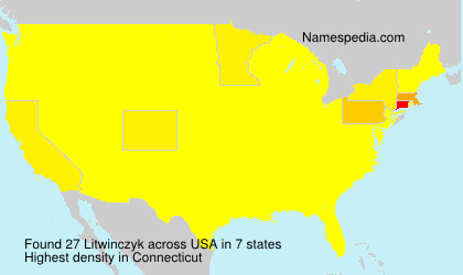 Surname Litwinczyk in USA