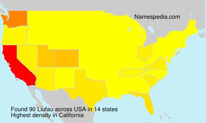 Surname Liufau in USA