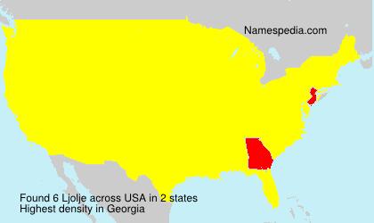 Familiennamen Ljolje - USA